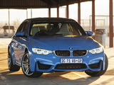 BMW M3 ZA-spec (F80) 2014 images