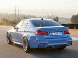 BMW M3 ZA-spec (F80) 2014 photos