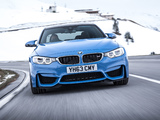 BMW M3 UK-spec (F80) 2014 photos