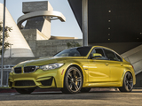 BMW M3 North America (F80) 2014 pictures