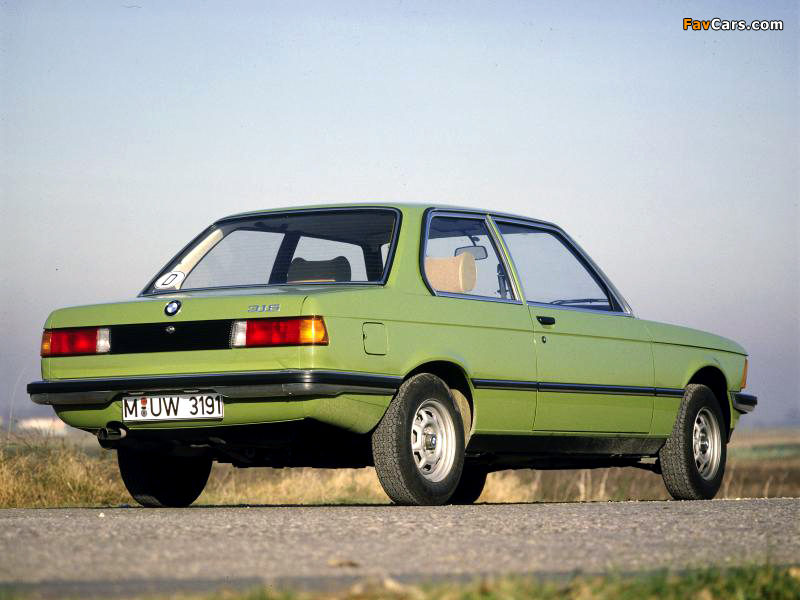 Bmw 316 Coupe E21 1975 83 Wallpapers 800x600