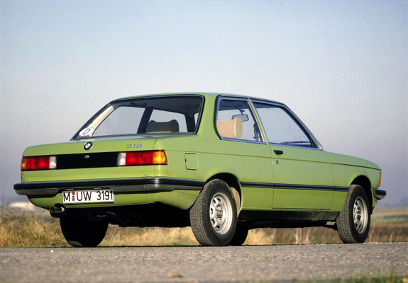 BMW 316 Coupe (E21) 1975–83 wallpapers