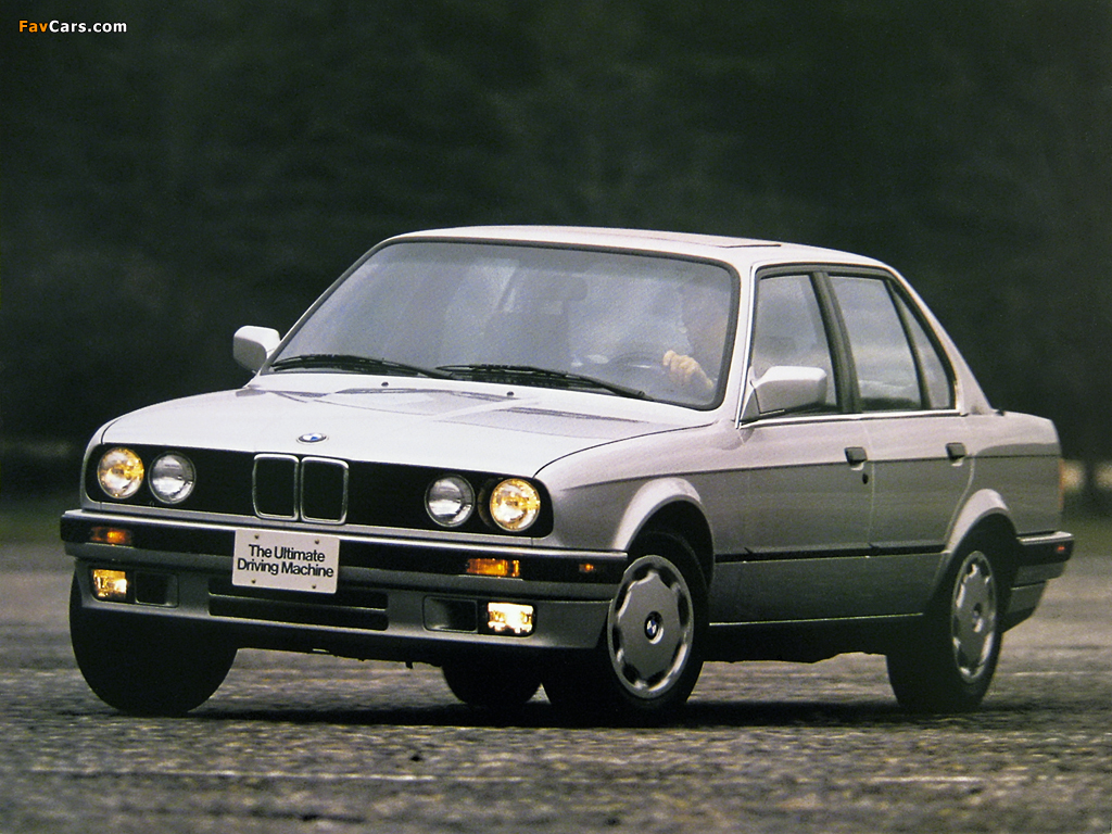 Bmw 318i Sedan Us Spec E30 1987 94 Wallpapers 1024x768