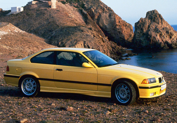BMW M3 Coupe (E36) 1992–98 wallpapers