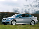 BMW 320d Sedan UK-spec (E90) 2005–08 photos