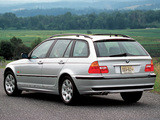 Images of BMW 325Xi Touring US-spec (E46) 2000–01