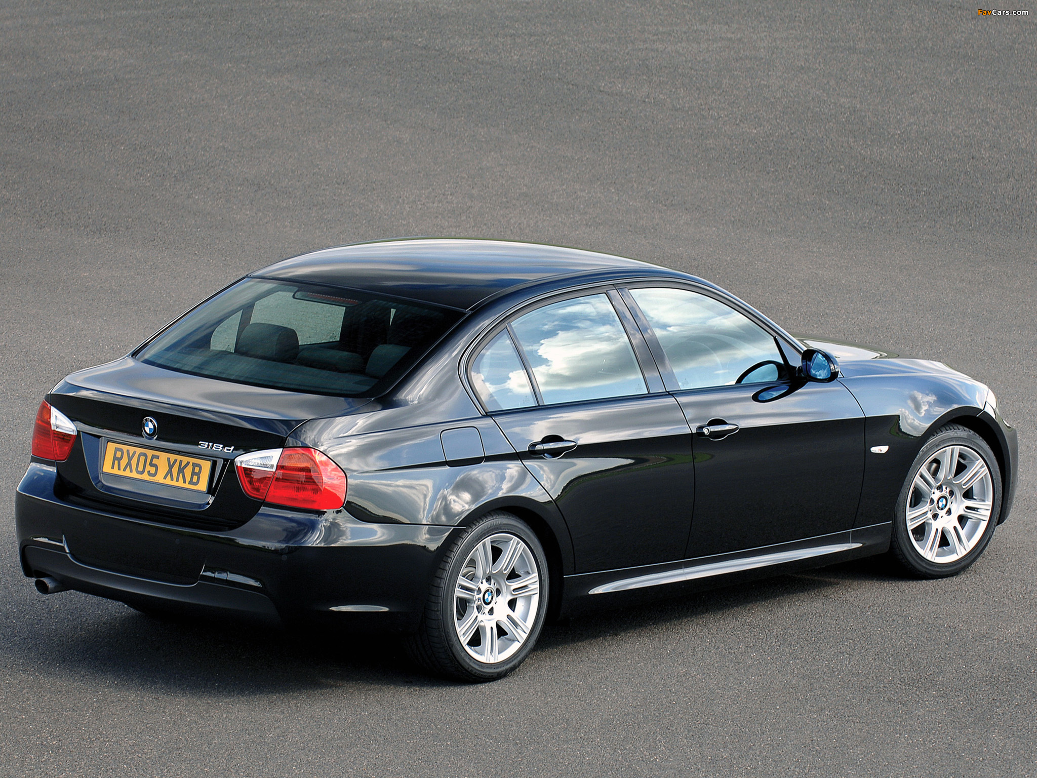 Images Of Bmw 318d M Sports Package Uk Spec E90 2006 2048x1536