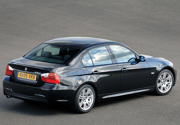 images of bmw 318d m sports package uk spec e90 2006. Black Bedroom Furniture Sets. Home Design Ideas