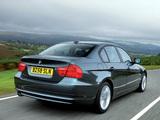 Images of BMW 320d Sedan UK-spec (E90) 2008–11