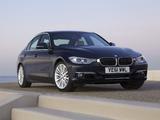 Images of BMW 335i Sedan Luxury Line UK-spec (F30) 2012