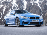 Images of BMW M3 UK-spec (F80) 2014