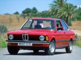 Photos of BMW 316 Coupe (E21) 1975–83