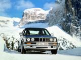 Photos of BMW 325iX Sedan (E30) 1987–91