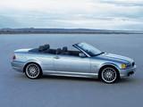 Photos of BMW 3 Series Cabrio (E46) 2000–06