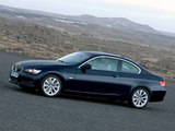 Photos of BMW 335i Coupe (E92) 2007–10