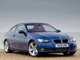 Photos of BMW 335i Coupe UK-spec (E92) 2007–10