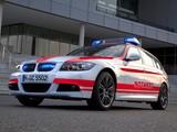 Photos of BMW 3 Series Touring Notarzt (E91) 2011–12
