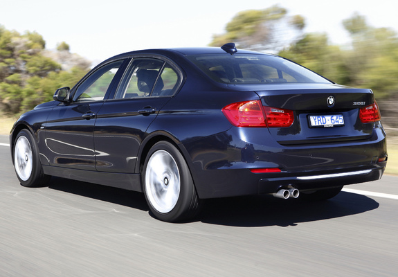 of BMW 328i Sedan Luxury Line AUspec F30 2012