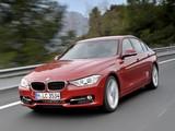 Photos of BMW 328i Sedan Sport Line (F30) 2012
