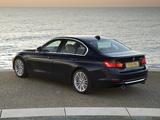 Photos of BMW 335i Sedan Luxury Line UK-spec (F30) 2012