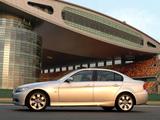 Photos of BMW 325i Sedan (E90) 2005–08