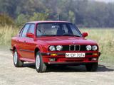 Pictures of BMW 325iX Sedan (E30) 1987–91