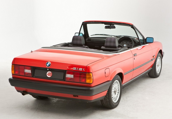 pictures of bmw 318i cabrio uk spec e30 1990 93. Black Bedroom Furniture Sets. Home Design Ideas