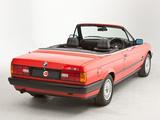 Pictures of BMW 318i Cabrio UK-spec (E30) 1990–93