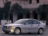 Pictures of BMW 328i Sedan (E46) 1998–2000