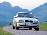 Pictures of BMW 318i Sedan (E46) 2001–05