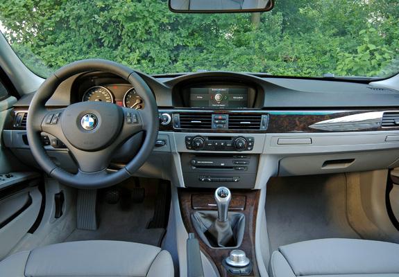 of BMW 325i Touring (E91) 2006–08