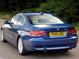 Pictures of BMW 335i Coupe UK-spec (E92) 2007–10