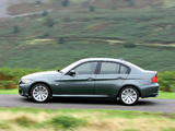 Pictures of BMW 320d Sedan UK-spec (E90) 2008–11