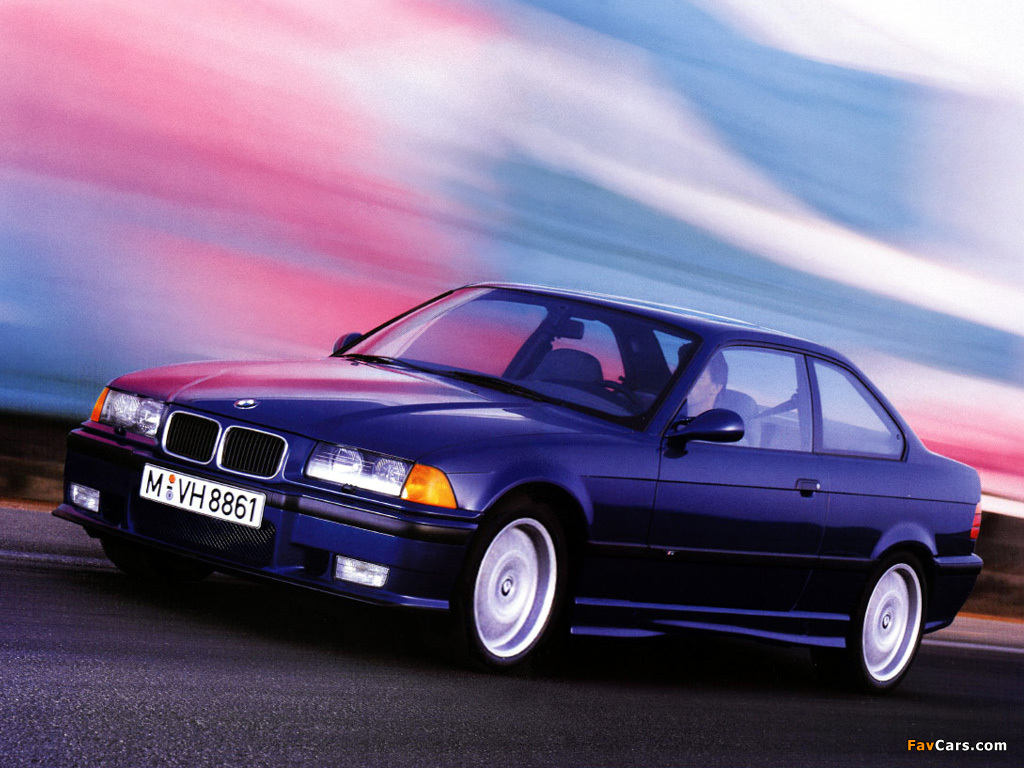 Pictures of BMW M3 Coupe (E36) 1992–98