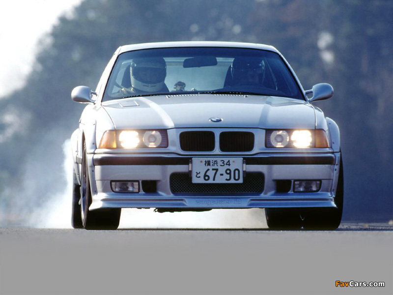 Iding Power Bmw M3 S3 E36 1994 Wallpapers