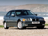 BMW 318ti Compact UK-spec (E36) 1994–2000 wallpapers