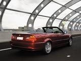 BMW 330Ci Cabrio AU-spec (E46) 2000–03 wallpapers