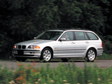 BMW 325Xi Touring US-spec (E46) 2000–01 wallpapers