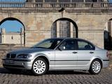 BMW 318i Sedan (E46) 2001–05 wallpapers
