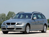 BMW 320d Touring (E91) 2006–08 wallpapers