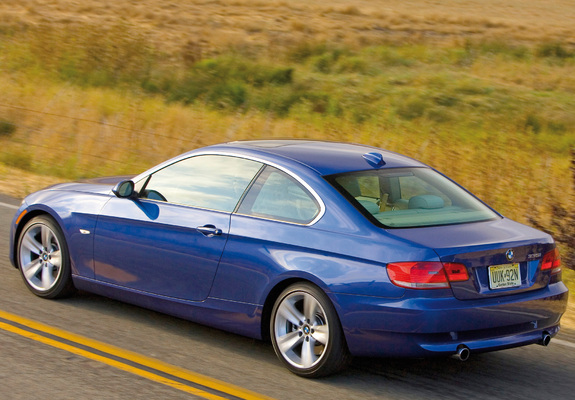 335i Coupe US-spec (E92) 2007–10 wallpapers