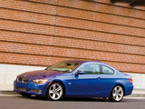 BMW 335i Coupe US-spec (E92) 2007–10 wallpapers