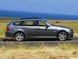 BMW 335i Touring AU-spec (E91) 2008–12 wallpapers