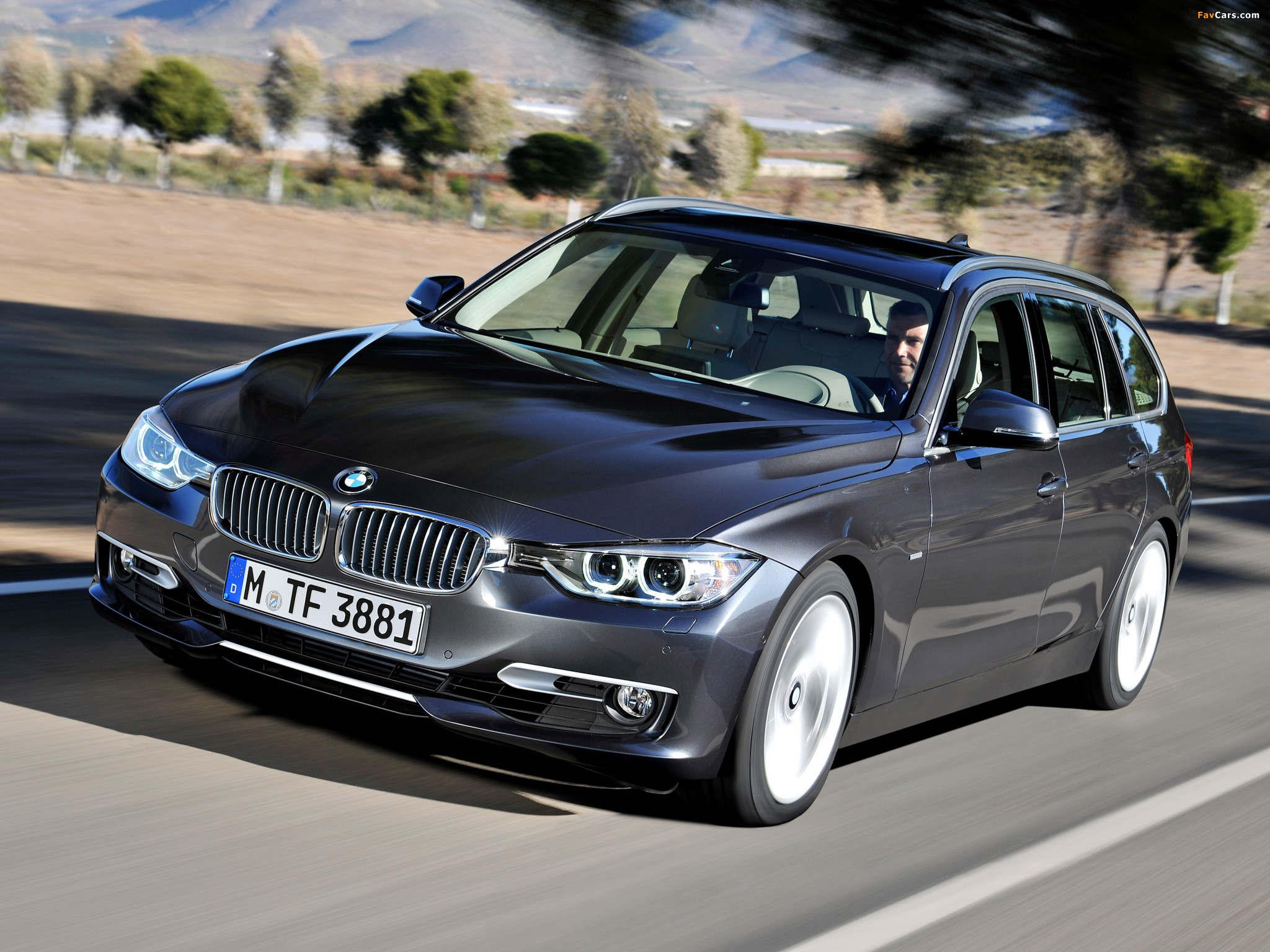 bmw 330d touring modern line f31 2012 wallpapers 2048x1536