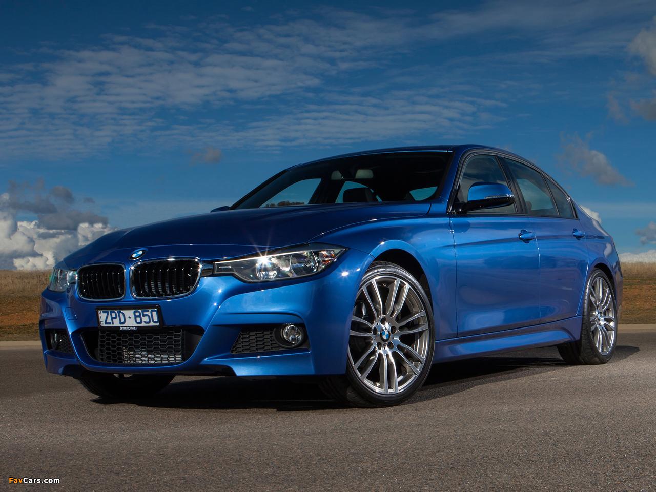 Bmw I Series >> BMW 316i Sedan M Sport Package AU-spec (F30) 2013 wallpapers (1280x960)