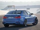 BMW M3 ZA-spec (F80) 2014 wallpapers