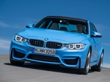 BMW M3 (F80) 2014 wallpapers