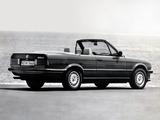 BMW 320i Cabrio (E30) 1986–93 wallpapers
