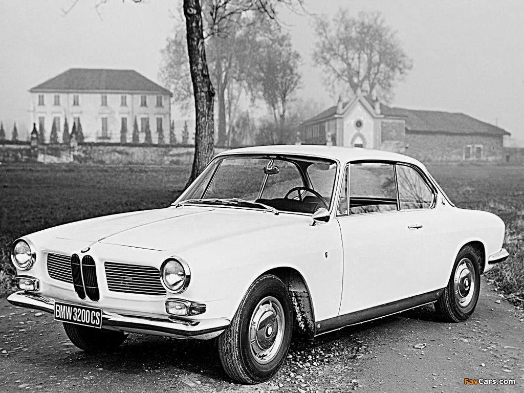BMW 3200 CS Coupe 1962-65 images (1024x768)