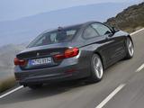 BMW 420d Coupé Sport Line (F32) 2013 images